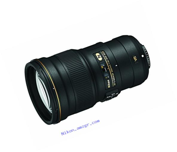 Nikon AF-S FX NIKKOR 300MM f/4E PF ED Vibration Reduction Lens with Auto Focus for Nikon DSLR Cameras
