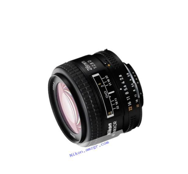 Nikon AF Nikkor 1922 28 mm f/ 2.8 Lens for Nikon FX/35mm Film and DX
