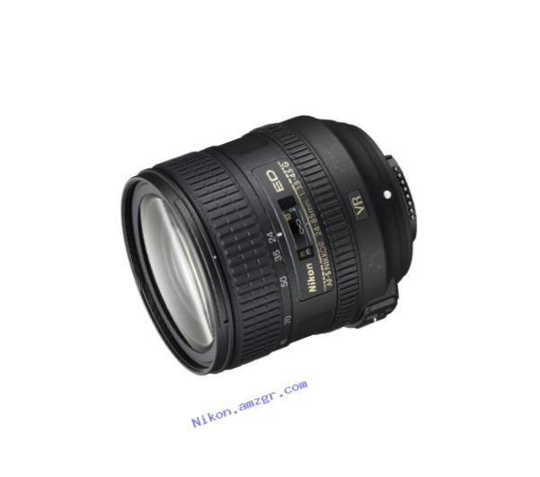 Nikon AF-S FX NIKKOR 24-85mm f/3.5-4.5G ED Vibration Reduction Zoom Lens with Auto Focus for Nikon DSLR Cameras