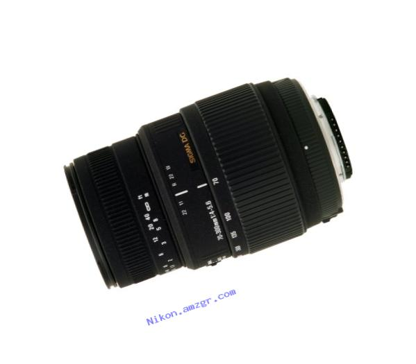 Sigma 70-300mm f/4-5.6 DG Macro Motorized Telephoto Zoom Lens for Nikon Digital SLR Cameras